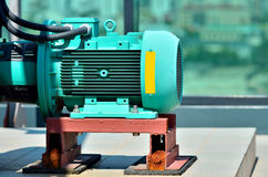 Electric motor closeup Royalty Free Stock Image