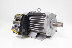 Electric motor with control panel Stock Image