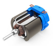 The electric motor Stock Photo