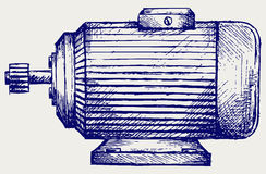 Electric motor Royalty Free Stock Image
