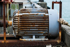 Electric motor Stock Photos