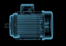 Electric motor with internals Stock Images
