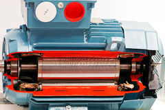 Electric motor royalty free stock photo