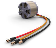 Electric motor for RC models Royalty Free Stock Photos