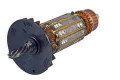 Electric motor rotor Royalty Free Stock Photography