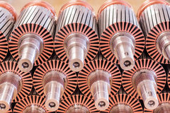 The electric motor rotor of stock. Electric motor rotor of stock stock images