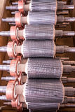 The electric motor rotor of stock. Electric motor rotor of stock stock photography