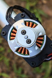 Electric motor of a small size Stock Photography