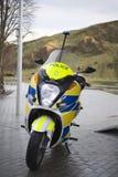 Electric motorbike Royalty Free Stock Image