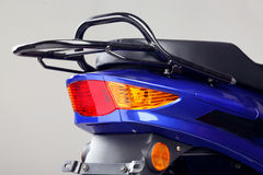Electric motorcycle Royalty Free Stock Images