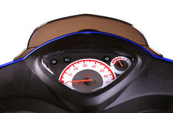Electric motorcycle Stock Photo