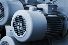 Electric motors Royalty Free Stock Photo
