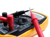 Electric multimeter Stock Image