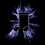 Electric music symbol Stock Photos