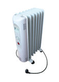 Electric oil heater Royalty Free Stock Images