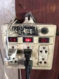 electric old plug Στοκ Φωτογραφίες