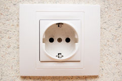 Electric outlet Stock Photography