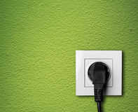 Electric outlet Royalty Free Stock Photos
