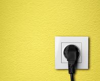 Electric outlet Stock Photo