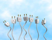 Electric Outlets Royalty Free Stock Image