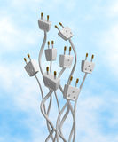 Electric Outlets Stock Photography