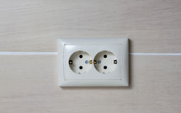 Electric outlets Royalty Free Stock Photos