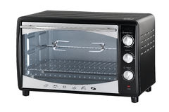 An electric oven Stock Photo