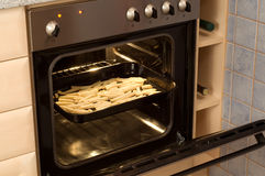 Electric oven Stock Photos