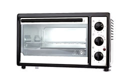 Electric oven isolated on  background Royalty Free Stock Photography