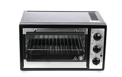 Electric oven isolated on background Royalty Free Stock Image