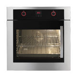 Electric oven royalty free stock image