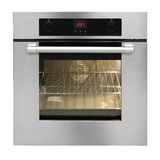 Electric oven Stock Image