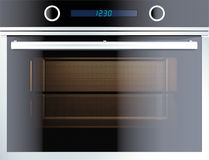 Electric oven. Isolated on white. 3d render Stock Photography