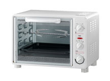 Electric oven the modern designed for your kitchen Royalty Free Stock Photography