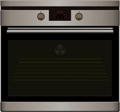 Electric oven. Vector Royalty Free Stock Photos