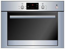 Electric oven. Vector Stock Photography