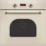 Electric oven. Vector Royalty Free Stock Image