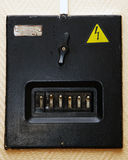 Electric panel Stock Image