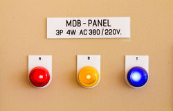 Electric panel Royalty Free Stock Image