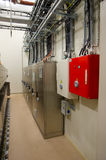 Electric panels Royalty Free Stock Photo