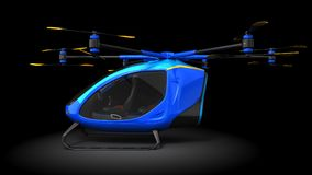 Electric Passenger Drone Royalty Free Stock Images