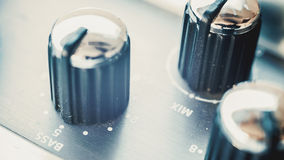 Electric Pedal Equalizer Royalty Free Stock Image