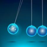 Electric Pendulum vector illustration