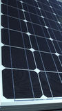 Electric photovoltaic solar panels cells Royalty Free Stock Photos