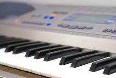Electric piano Royalty Free Stock Photo