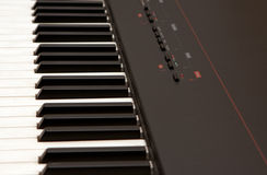 Electric piano Royalty Free Stock Photos