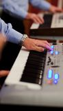 Electric piano Stock Images