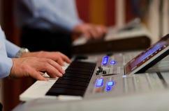 Electric piano Royalty Free Stock Photos