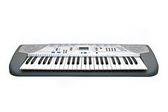 Electric piano. Photo of the electric piano on a white background Stock Photo