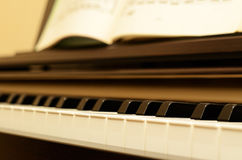 Electric piano Stock Image